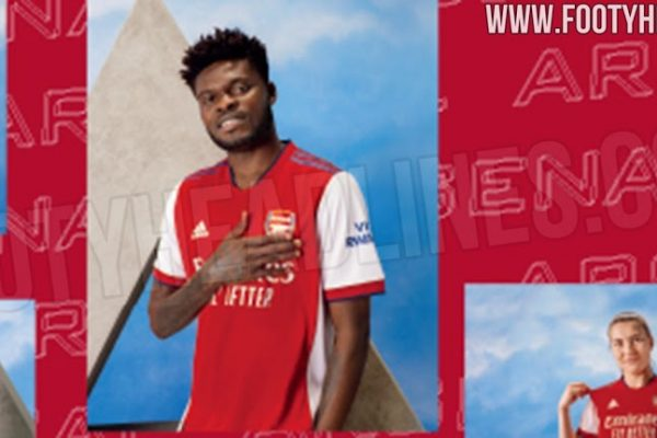 Arsenal has officially launched the 2021-22 home shirt.