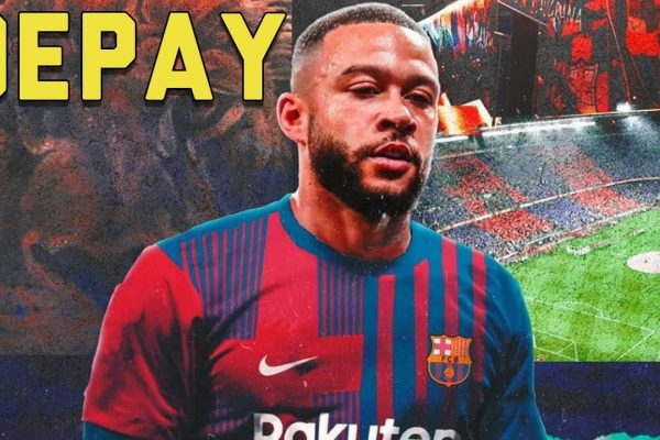 Memphis Depay is happy with Barcelona.